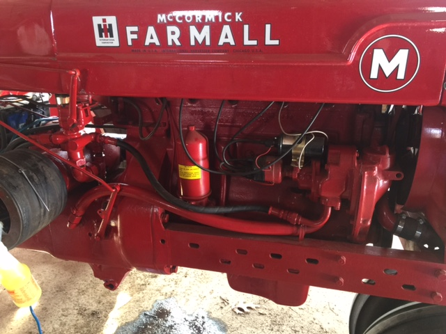 Farmall M 3 Point hydraulic hook up - General IH - Red Power Magazine  CommunityRed Power Magazine