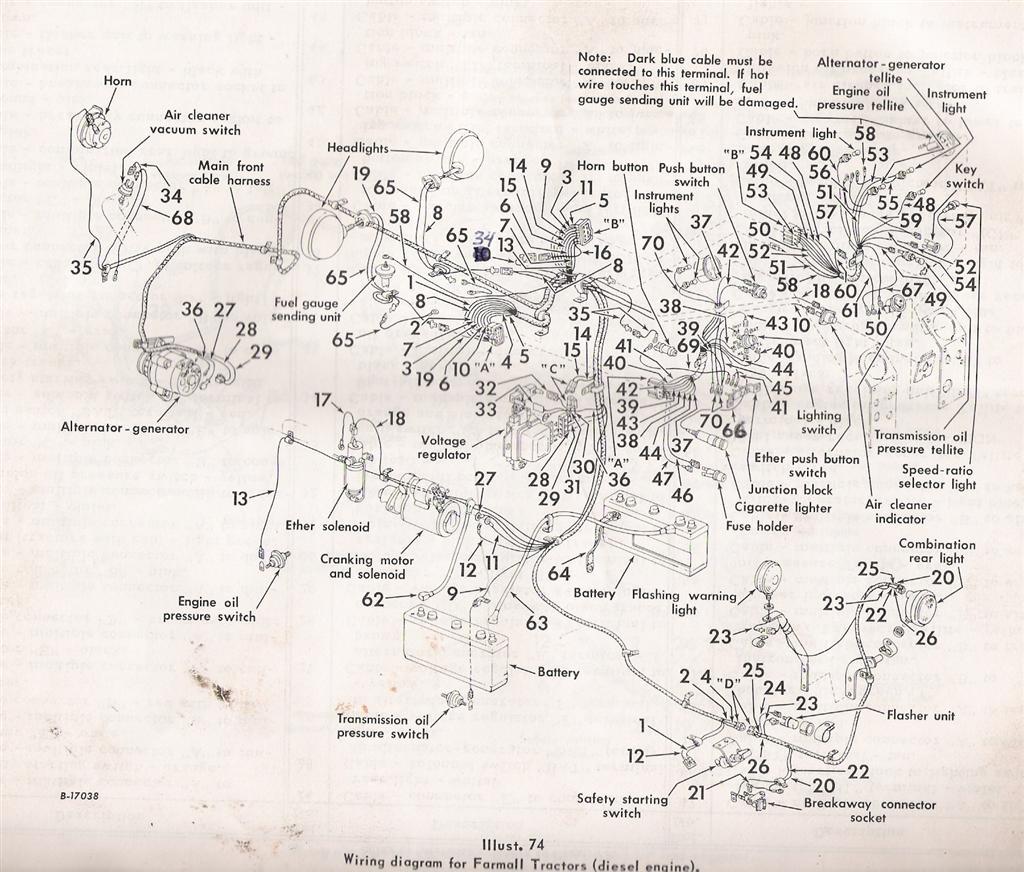 826 Wiring Diagram General Ih Red Power Magazine Community