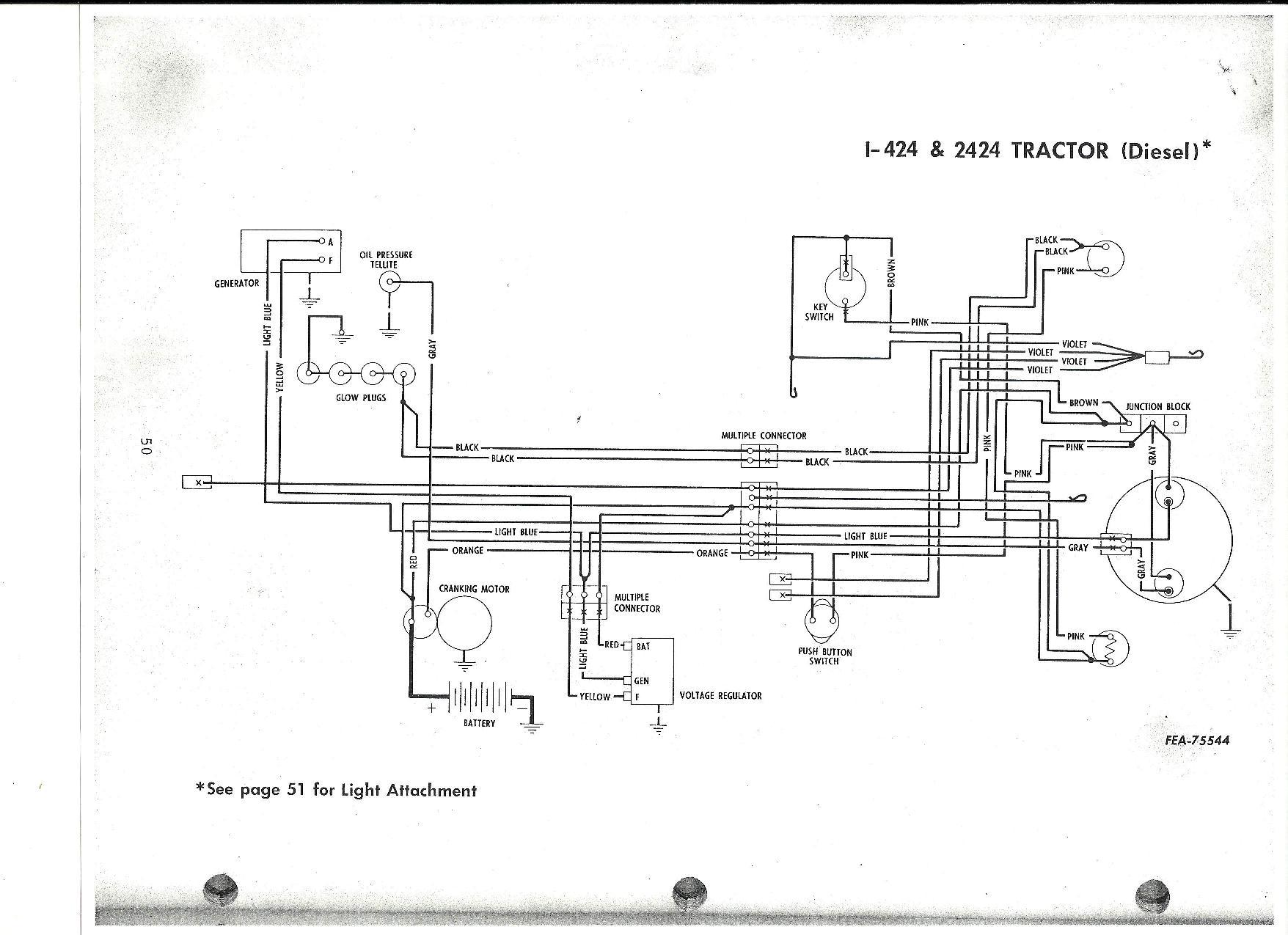 Ih 444 diesel wiring - General IH - Red Power Magazine CommunityRed Power Magazine